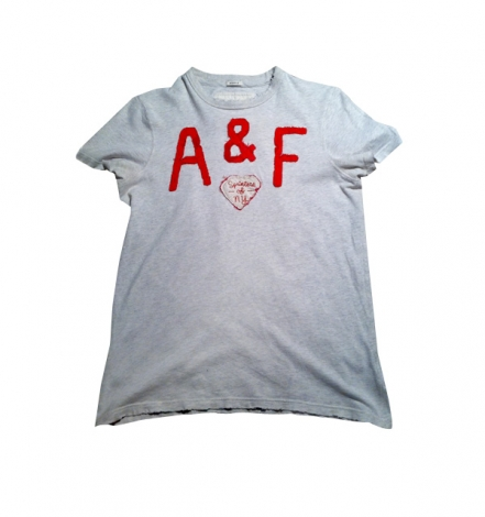 Tee-shirt ABERCROMBIE & FITCH Beige, camel