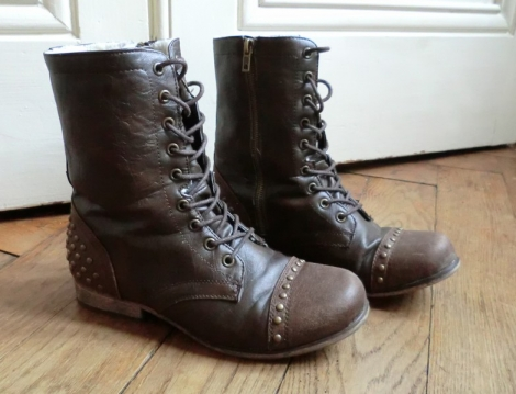 Bottines & low boots plates NEW LOOK Marron
