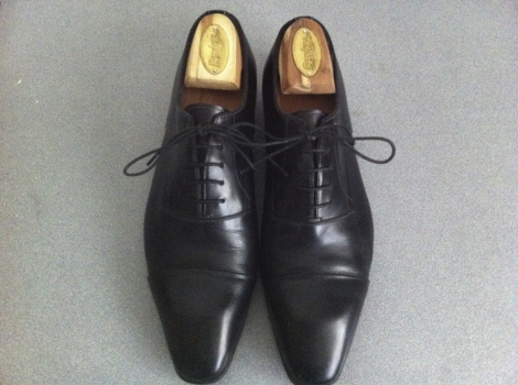 Chaussures homme cuir marron soldes