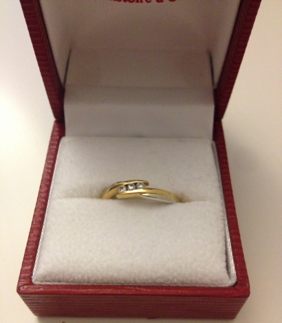 Ring HISTOIRE D'OR Mehrfarbig