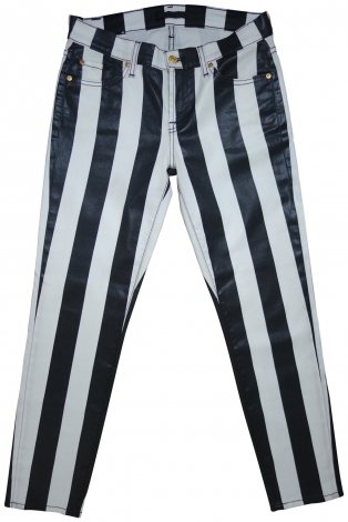 Skinny Jeans 7 FOR ALL MANKIND Noir/blanc