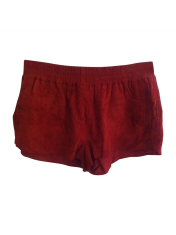Shorts MAJE Rot, bordeauxrot