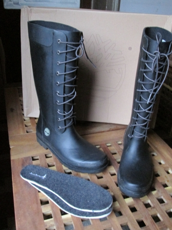 bottes pluie timberland