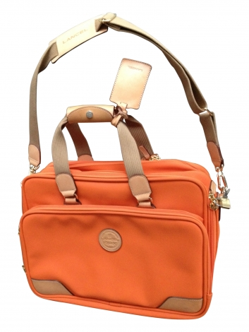 Aktenmappe, Aktentasche LANCEL Orange