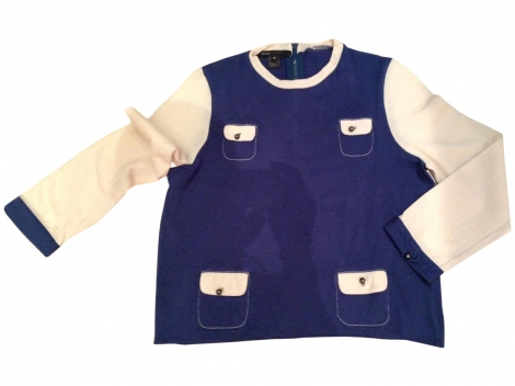 Maglione MARC BY MARC JACOBS Blu, blu navy, turchese