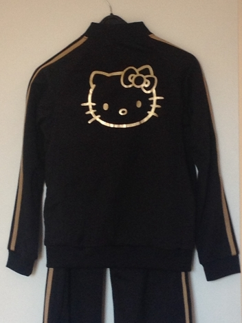 Hello Kitty by Victoria Couture Ensemble jogging Noir