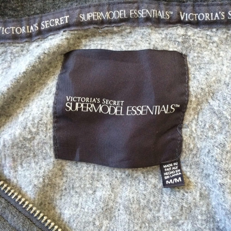 Victoria's Secret Ensemble jogging Gris, anthracite