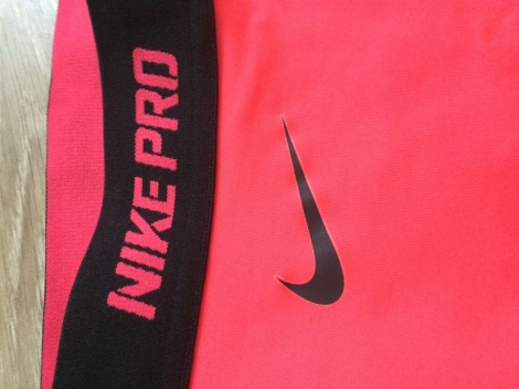 Nike Pantalon de fitness Rose, fuschia, vieux rose