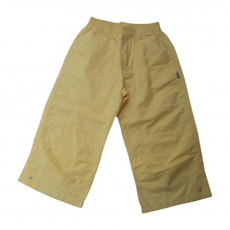 Cropped Pants JEAN BOURGET Yellow