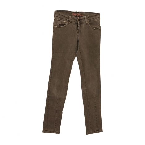 Jean slim  PEPE JEANS Gris, anthracite