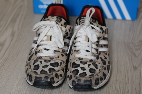 Baskets ADIDAS Marron