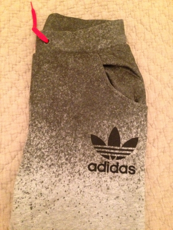 Adidas Pantalon de survêtement Gris, anthracite