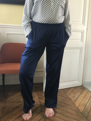 Stella Mccartney Pantalon de survêtement Bleu, bleu marine