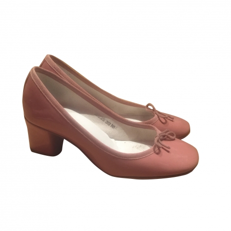Pumps, Heels REPETTO Pink, fuchsia, light pink
