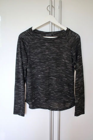 Top, tee-shirt MONOPRIX Gris, anthracite
