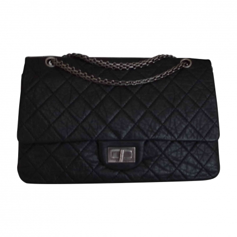 Borsetta in pelle CHANEL 2.55 Nero