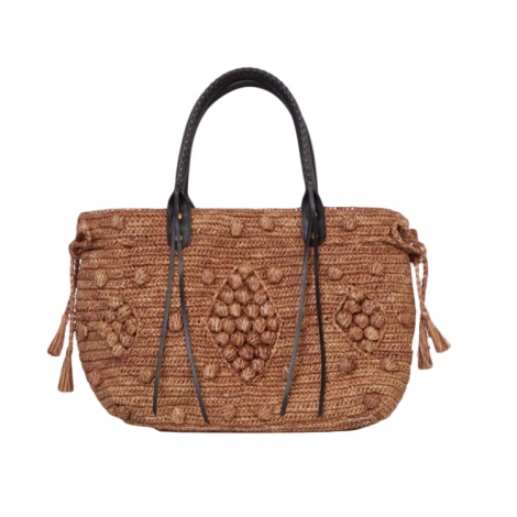 Non-Leather Oversize Bag GERARD DAREL Brown