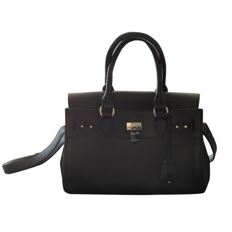 Leather Handbag MAC DOUGLAS Black