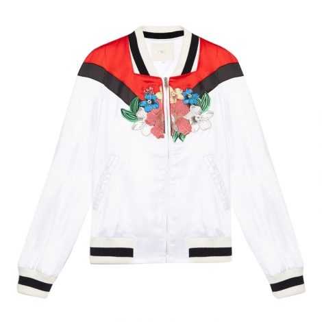Zipped Jacket MAJE Multicolor